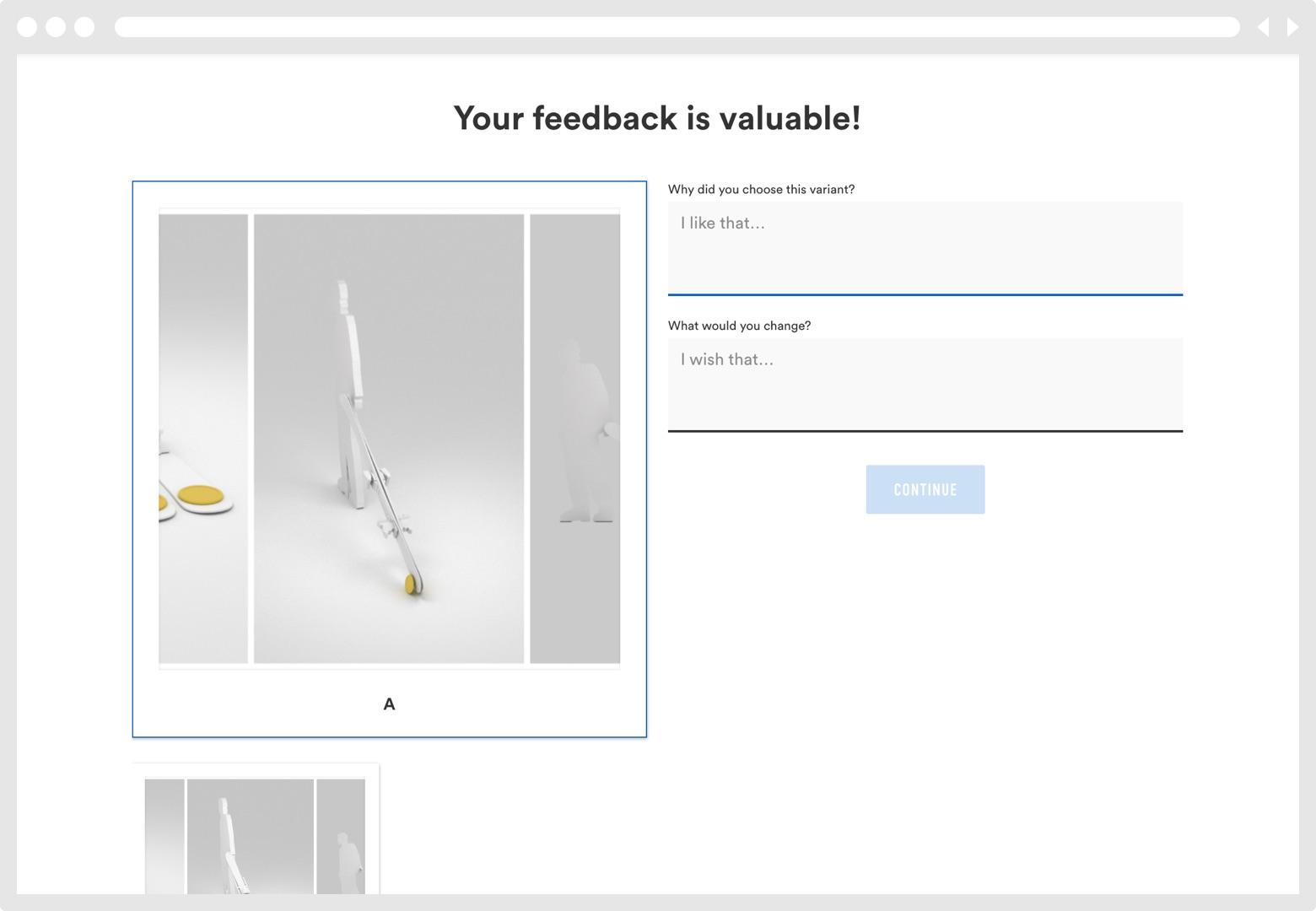 Screenshot Beispiel Physischer Prototyp